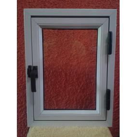 Ventana para ba o en aluminio 30x40 aberturas en mercado for Ventanas de aluminio mercadolibre argentina