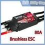Esc Speed Control 80a Ubec 5v Brushless Motor Lipo Turnigy