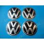 Centros De Rin Volkswagen 9 Cm. Tapas Tapon Emblemas Vw