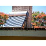 Super Oferta Calefon Solar Tetrasolar 150 Litros Acero Inox.