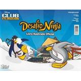 Desafio Ninja Club Penguim Album C/ 100 Figurinhas Cards