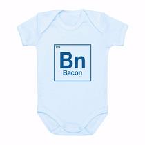 Body Bebê Personalizado Bacon - Elemento Químico