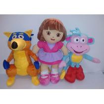 Turma Da Dora Ventureira Completa Com Dora,raposo,botas