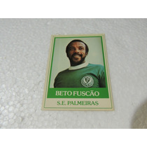 Card Original Beto Fuscão Nº 32 Palmeiras Futebol Ping Pong
