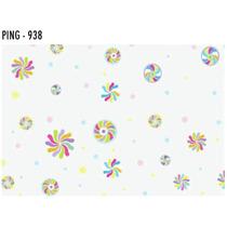 Sacos Transparente Decorado 10x15 Pirulito Com 50 Unid