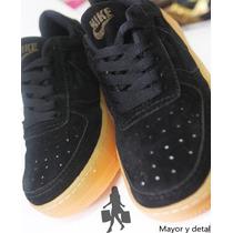 Zapatos Nike Air Force One Para Damas Y Caballeros Bajos