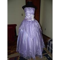 Vestido Debutante 15 Anos Bordado Seda Casamento