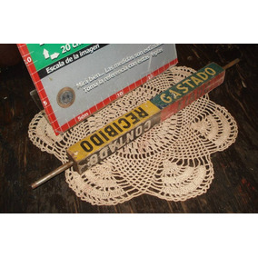 Antiguo Y Decorativo Eje Caja Registradora National (5106)