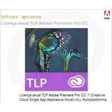 Licença Anual Tlp Adobe Premiere Pro Cc 7