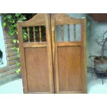 Puertas Vaiven Madera