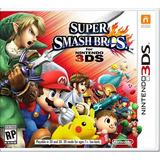 °° Super Smash Bros Para 3ds °° En Bnkshop