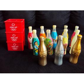 Coleção Completa Garrafinhas Coca Cola Atenas 2004
