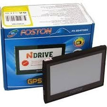 Gps Foston Fs-3d473 Dc C/ Câmera De Ré,tv Digital,tela4.3_1a