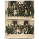 2 Fotos Postales Alumnos Colegio Nacional Santa Fe 1925