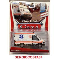 Disney Cars 2 Alfredo Ambulancia +300 Mod Planes Frete Baixo