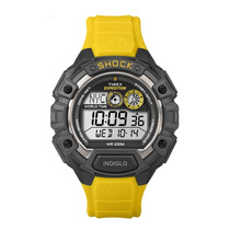 Reloj Timex Expedition Shock Amarillo Indiglo Nuevo Original