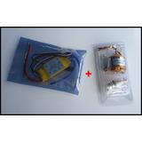 Motor Brushless 1000 Kv / 22-12 + Speed Control 30 Amperios