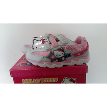 Zapatilla Hello Kitty Con Luz!! Footy