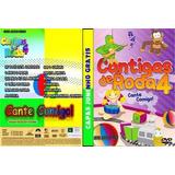 Coleçao Dvds Cantiga De Roda 5 Dvds Frete Grátis
