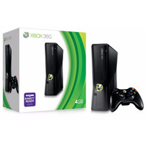 Xbox 360 Slim Semi Novo Original + Kinect Pode Desbloquear