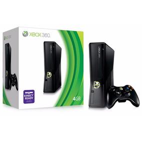 Xbox 360 Slim Semi Novo Original + Kinect