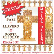 Cruz Oración Virgen De Guadalupe 25 Cm Recuerdos Luctuosos