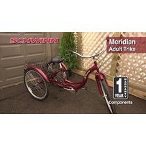 Triciclo Bicicleta Schwinn Meridian Para Adulto Envío Gratis