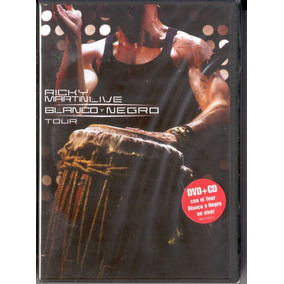 Ricky Martin - Ricky Martin Live Black & White Tour - Dvd+cd