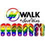 Chinelos Glbt - Gay - Lésbica - Simpatizante - Lovewins