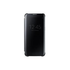 Funda Clear View Cover Black Samsung Galaxy S7 Edge