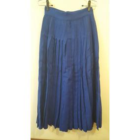 58ed99a48da Saia Longa - Femininas Saias Longas Azul
