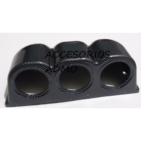 Poste Carbon Instalar Medidor Tacometros Rpm Temperatur Etc.