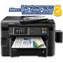 Impresora Multi Epson Wf 3640 Sistema Tinta Cafe Internet