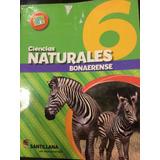 Libros Ciencias Naturales 6 Bonaerense, Edit Santillana