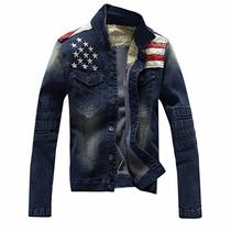 Jaqueta Masculina Jeans Importada Eua Casacos Brim Inverno