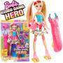 Boneca Barbie Patinadora Em Um Mundo De Vídeo Game - Mattel