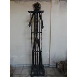#11854 - Escultura Madeira Porta Dvd!!!