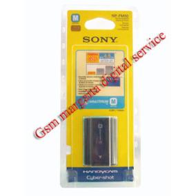 Bateria Sony Np-fm50. Fabricadas En Japón, No En China.