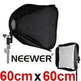 Caja De Luz Para Flash Marca Neewer 60x60 Cm