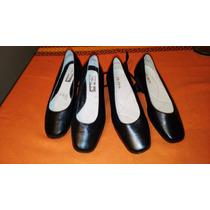 Zapatos 16 Hrs Tipo Chinitas Talla 34 Y 35