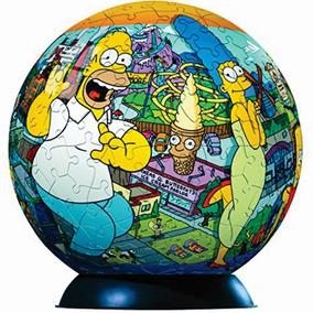Rompecabezas 3d Los Simpsons 240 Pz Ravensburger Coleccion !