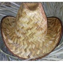 Sombrero Vaquero De Palma Niños Y Adultos Fiesta Animación