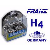 Bombillos H4 Franz Germany +50% / Xenón Blue - White (par)