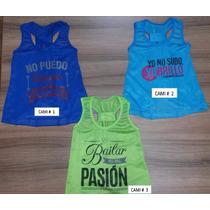 Camisas Para Niñas Y Jovencitas Danza Baile En Dry Fit