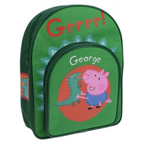 Mochila Infantil Do Irmão Da Peppa Pig George *promoção*
