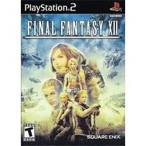 Dvd Ps2 Rpg Final Fantasy Xii 12 Lacrado 100% Original