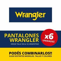 Jean Wrangler Montana - Solo Por Media Docena!!!