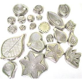 Kit De Frisadores Em Alumínio Fundido E Polido Com Apostila