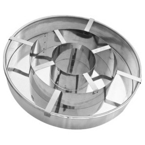 Forma Bolo Xadrez Em Alumínio E Inox