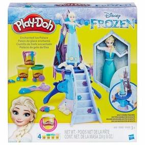 Play Doh Frozen Castillo De Hielo Encantado Hasbro